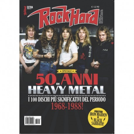 Rock HARD EXTRA 1 e 2 + libri CULTO & IRON MAIDEN