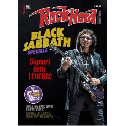 ROCK HARD PLUS - SPECIALE BLACK SABBATH + LIBRO I MIGLIORI 100 DISCHI CROSSOVER/NU METAL