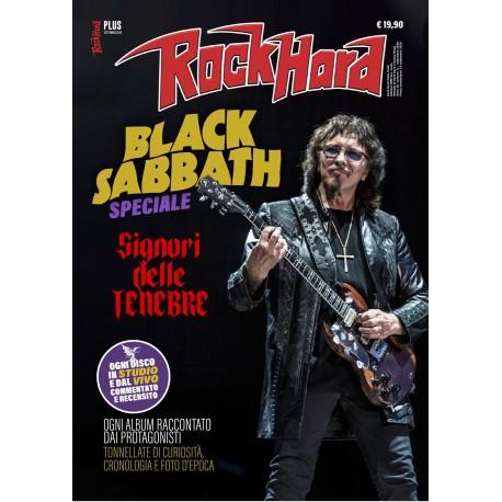 ROCK HARD PLUS - SPECIALE BLACK SABBATH + LIBRO I MIGLIORI 100 DISCHI CROSSOVER/NU METAL