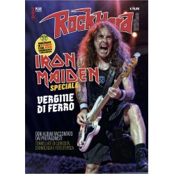 ROCK HARD PLUS - SPECIALE IRON MAIDEN + LIBRO I 100 MIGLIORI 100 DISCHI HARD ROCK (1968-1990)